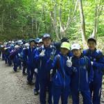 20180607 中学1年生「登山訓練」実施