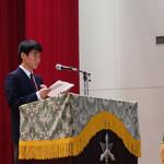 20160318 3学期終業式および第28回北嶺中学校卒業証書授与式